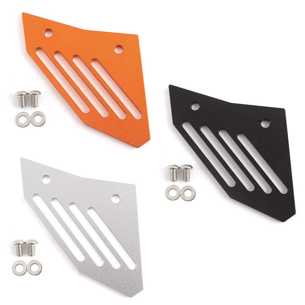 UltraSupplier Rear Lower Guide Sprocket Chain Guard Cover Protector Protection for KTM 1050 1090 1190 1290 ADV R Adventure (Orange)