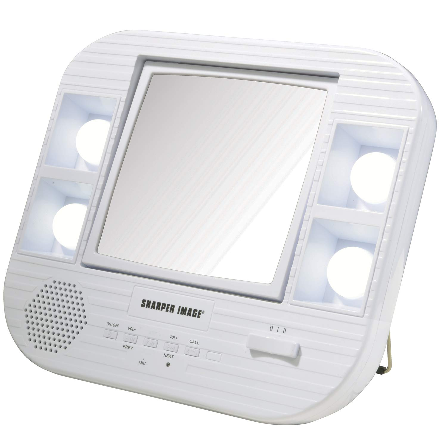 Sharper Image J1025 Led Lighted Makeup Mirror With Bluetooth, 2.0 Lb by Jerdon