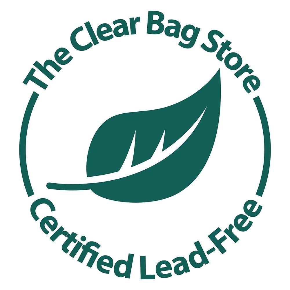 Clear Cross Body Shoulder Square Messenger Bag Security Compliant