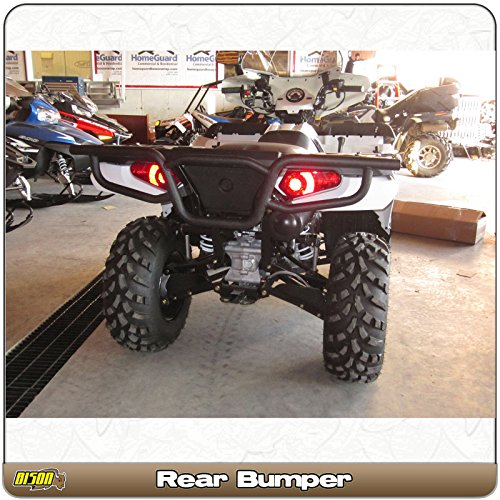 Polaris Sportsman 800 570 500 450 400 (2011-2017) Quad Rear ATV Bison Bumper Brush Guard Hunter & Trail 166-253H