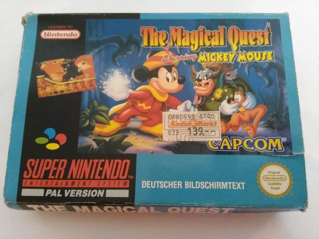 Amazon.com: The Magical Quest Starring Mickey Mouse: Video Games