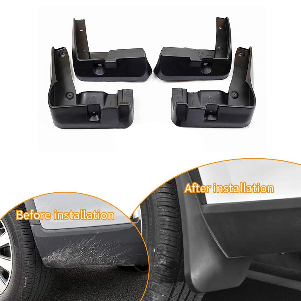 Car Custom Mud Flaps Splash Guards for Subaru Legacy 2010-2014 2015-2017 Fender Flares Mudflaps Mudguards Front and Rear Wheel 4Pcs