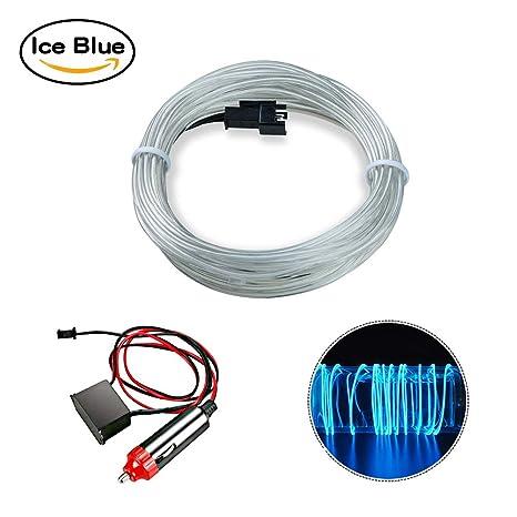 Luces de tira impermeables de los 5m LED, azul ice de HopeU5® que cambia