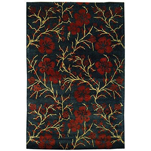 Safavieh Metro Collection MET976C Handmade Multicolored Wool Area Rug (6' x 9') ()