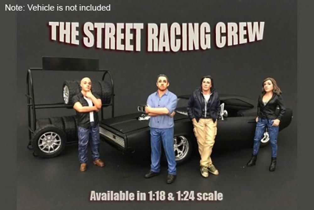 Amazon.com: Street Racing Crew figura # 3 – American Diorama ...