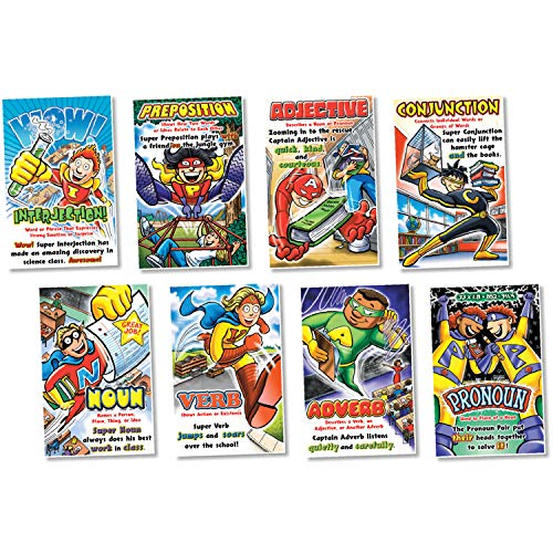 NORTH STAR TEACHER RESOURCE Parts of Speech Superheroes