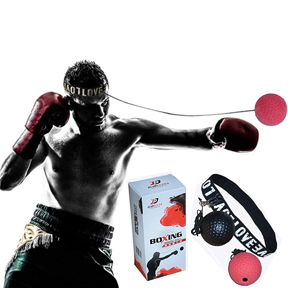 ゆでる関数偽善ボクシング ボール BURADACO パンチングボール 軽量 格闘技 練習用ボール 動体視力 反射神経 迅速な反応トレーニング ストレス発散(3個のボール)