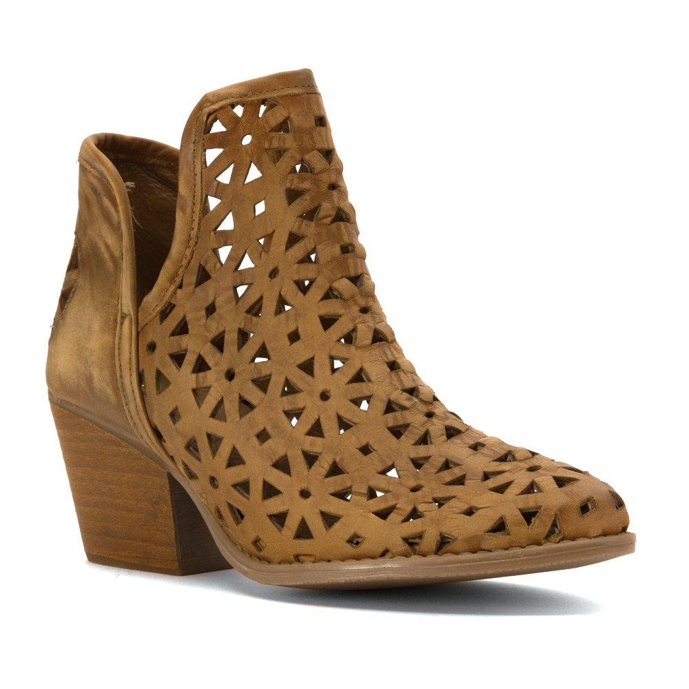 Musse & Cloud Women's Athena Ankle Bootie B07FP4ZDRZ 12 B(M) US|Moss
