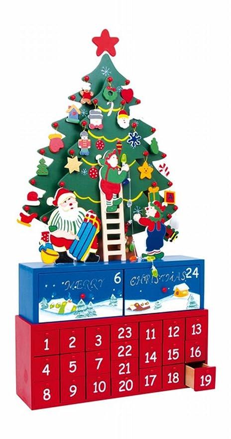 Il Calendario Dellavvento.Small Foot Company Legler Calendario Dell Avvento Abete