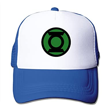 876ec7b6 Men's Unisex Green Lantern Corps Superhero Mesh Rock Cap Sports Snapback at Amazon  Men's Clothing store: