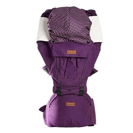 Ajustable Bebé Carrier portador de mochila 4 posiciones para recién nacidos y bebés (detrás de