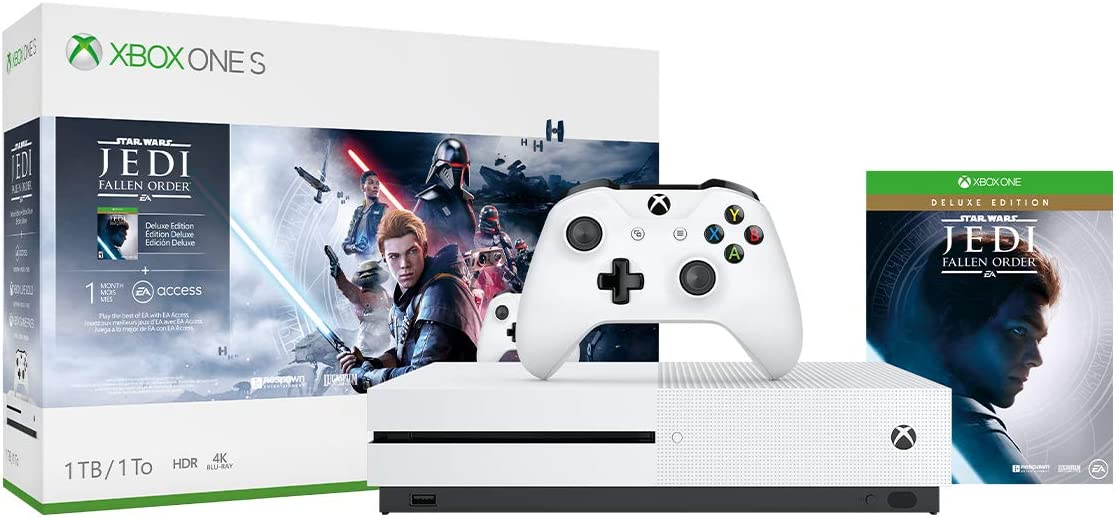 Xbox One S 1TB Console - Star Wars Jedi: Fallen Order Bundle