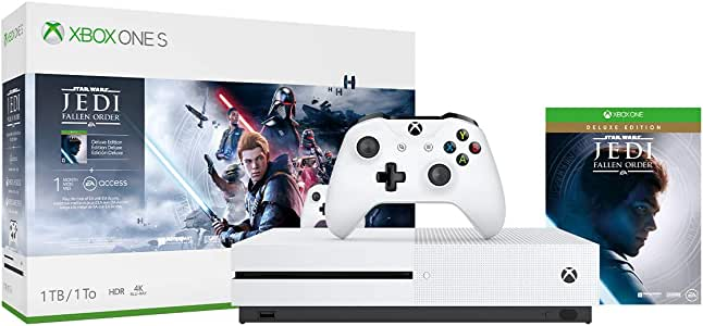 Xbox One S 1TB Console - Star Wars Jedi: Fallen Order Bundle [DISCONTINUED]