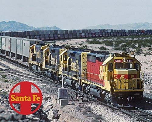 Santa Fe Kodachrome SD45-2u 8