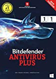 Bitdefender Antivirus Plus Latest Version (Windows) - 1 User, 1 Year (Activation Key Card)