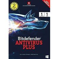 Bitdefender Antivirus Plus Latest Version (Windows) - 1 User, 1 Year (Activation Key Card)