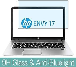 "Synvy Anti Blue Light Tempered Glass Screen Protector for HP Envy 17-j000 / j053ea / j020us / j013cl / j021nr / j005tx / j029nr / j070ca / j023cl / j027cl / j000eb / j000er 17.3"" Visible Area"