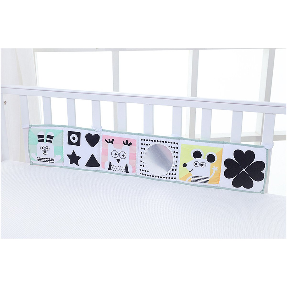 YeahiBaby Clip-on Pram Book for Baby Stroller Pram Carriage and Crib Entertainment and Development (Ladybug Pattern) by YeahiBaby (Image #7)