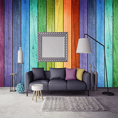Colorful Rainbow Color Board Modern Creative Interior Photo Wallpapers Custom Any Size 3D Wall Murals Home Decor Papel De Parede,140X70CM