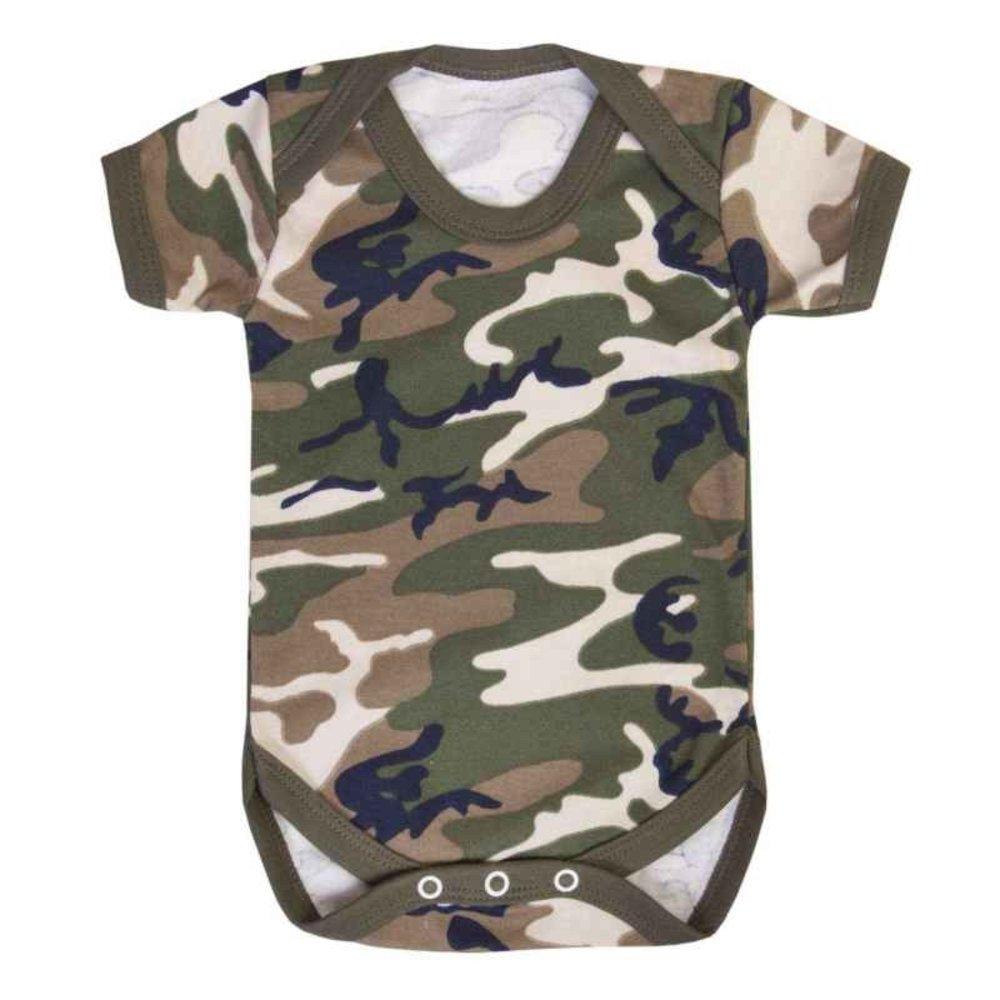 Metallimonsters - Maillot de corps - Bébé (garçon) 0 à 24 mois vert Green