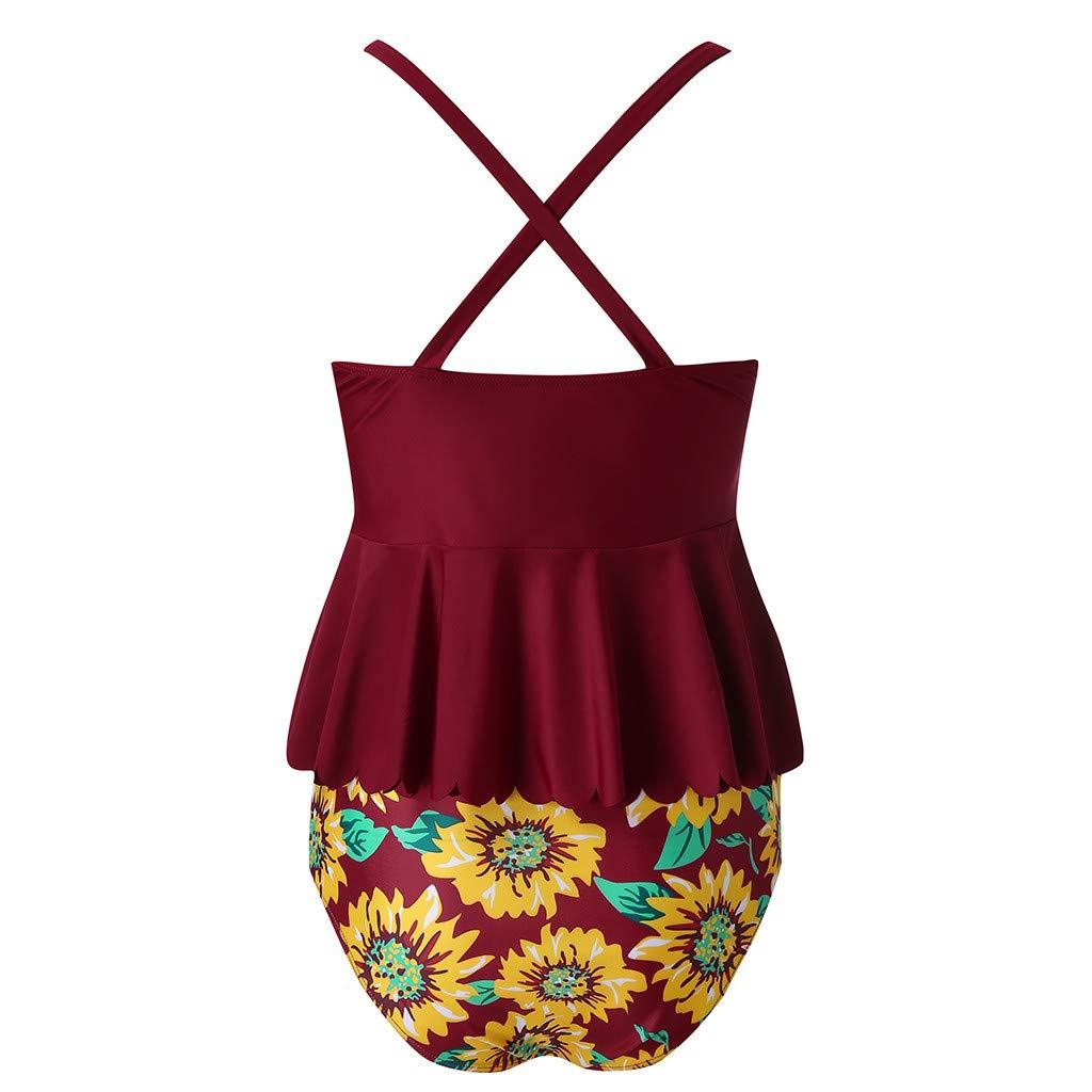 Tank Tops for Women,Jchen Ladies Bohemian Style Sleeveless Sunflower Print Blouse Casual Tank Loose Comfort Tank Tops