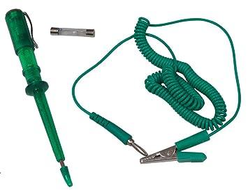 Pr/üflampe Tester Strompr/üfer 6V 24V Spannungspr/üfer Spannungstester Pr/üf-Testlampe