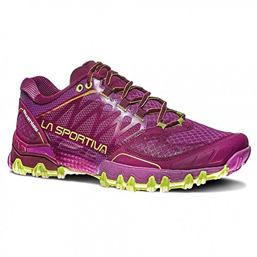 La Sportiva Bushido Woman, Zapatillas de Trail Running Unisex Adulto, (Plum/Apple