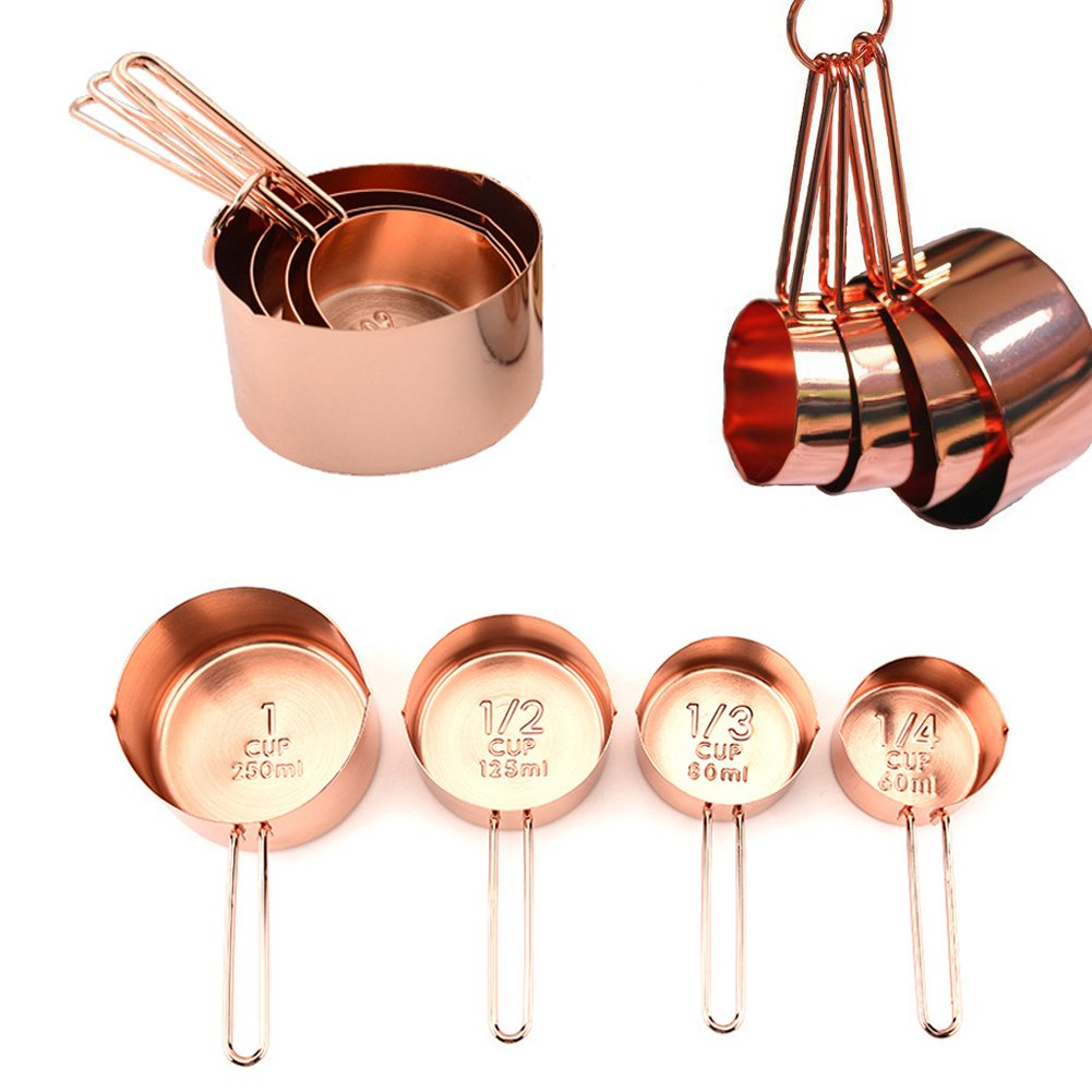 Rose Gold Measuring Cups