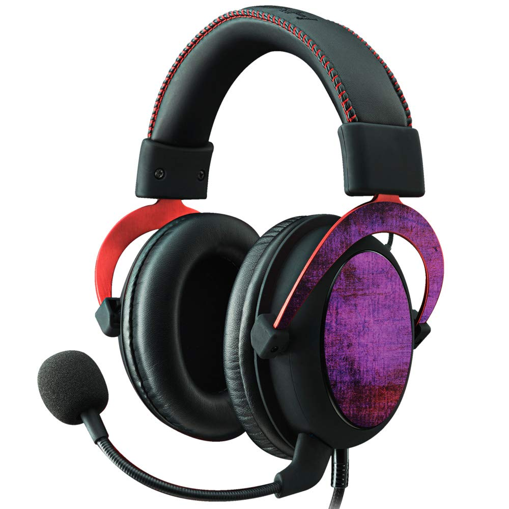 Easy to Apply Remove Protective Durable MightySkins Skin Compatible with Kingston HyperX Cloud II Gaming Headset Purple Sky Made in The USA and Unique Vinyl Decal wrap Cover