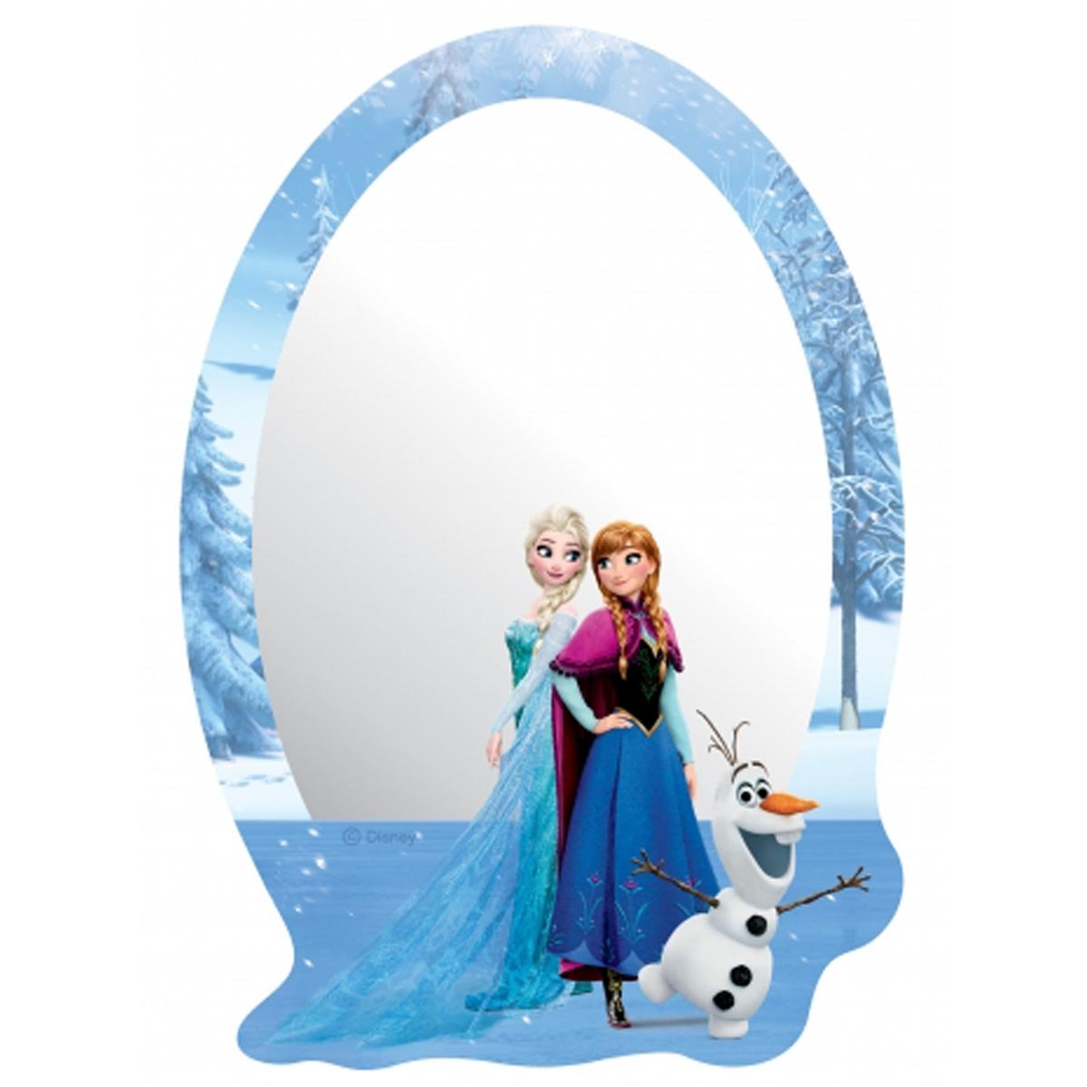 Miroir Trio Reine des Neiges Disney Frozen Bebegavroche