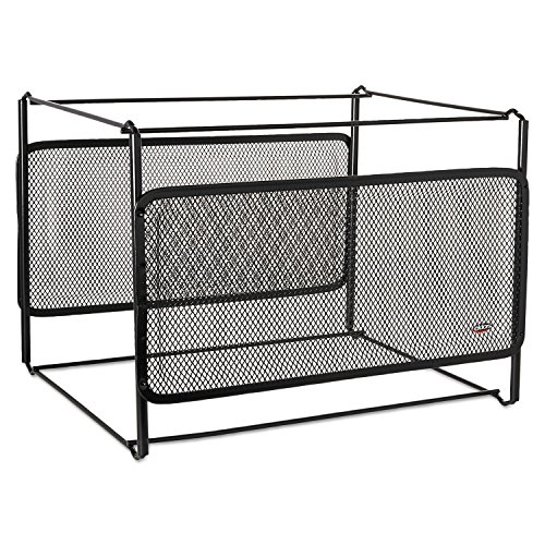 ELDON OFFICE PRODUCTS 22191 Letter Size Mesh File Frame Holder, Wire, 12 3/8 x 11 3/8 x 9 5/8, Black (Eldon File Holder compare prices)