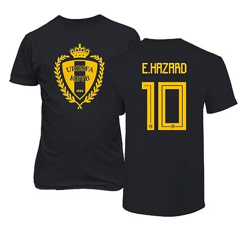 new arrivals 62d02 ece23 Amazon.com : Tcamp Belgium 2018 National Soccer #10 Eden ...