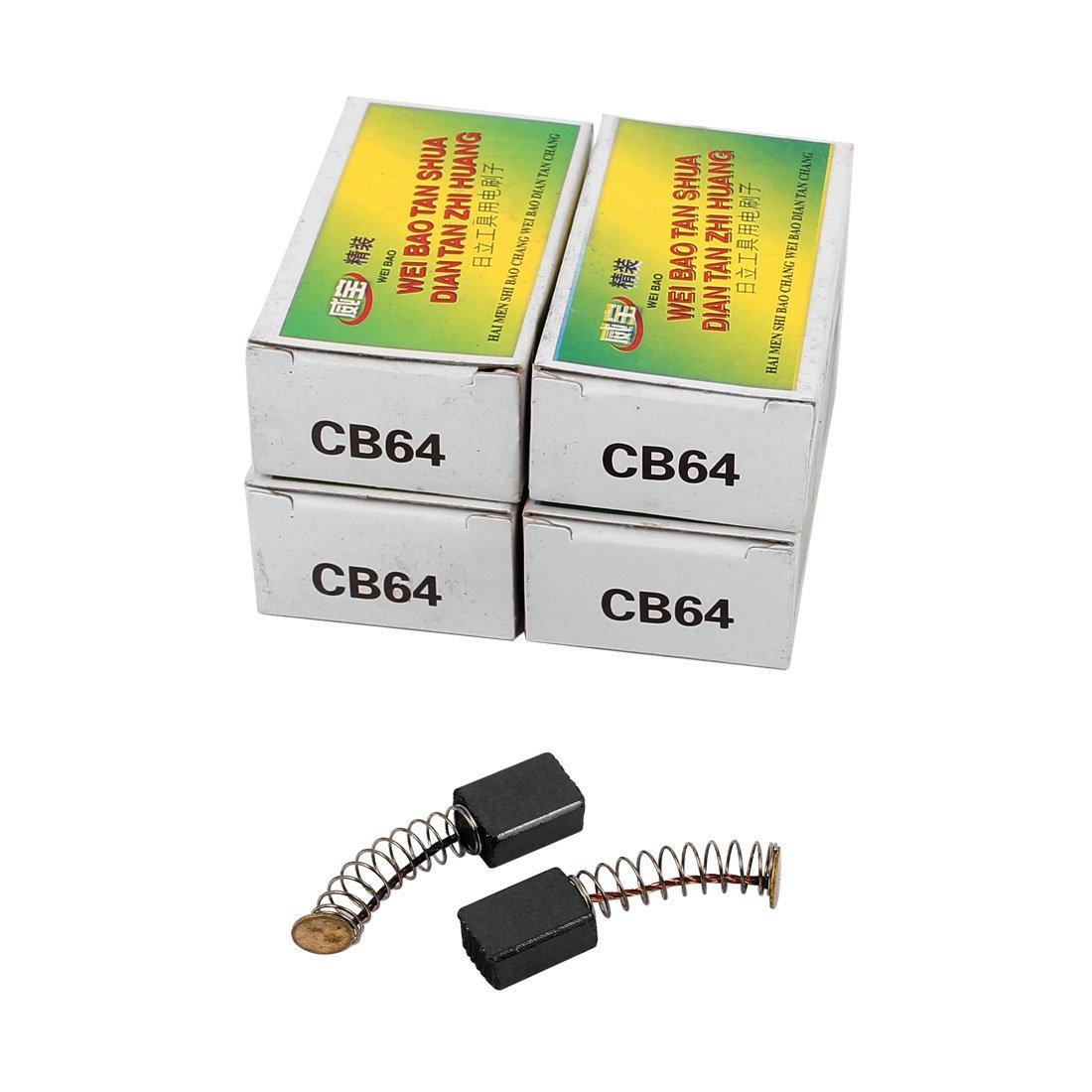 sourcingmap® 5 Pares Escobillas Herramienta eléctrica 12 x 8 x 5mm para Motor Eléctrico genérico a16091000ux0171