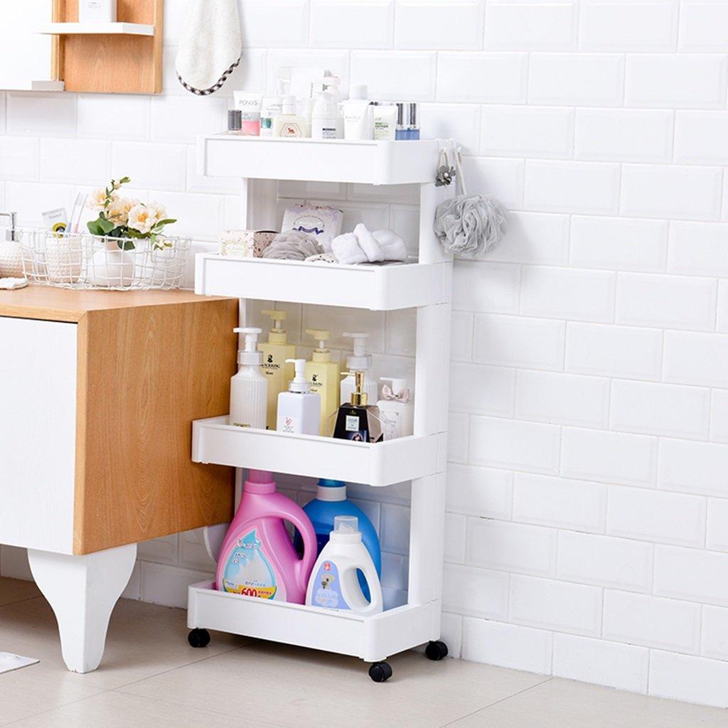 Amazon De Qqb Mehrschichtiges Regal Badezimmer Regal Wohnzimmer