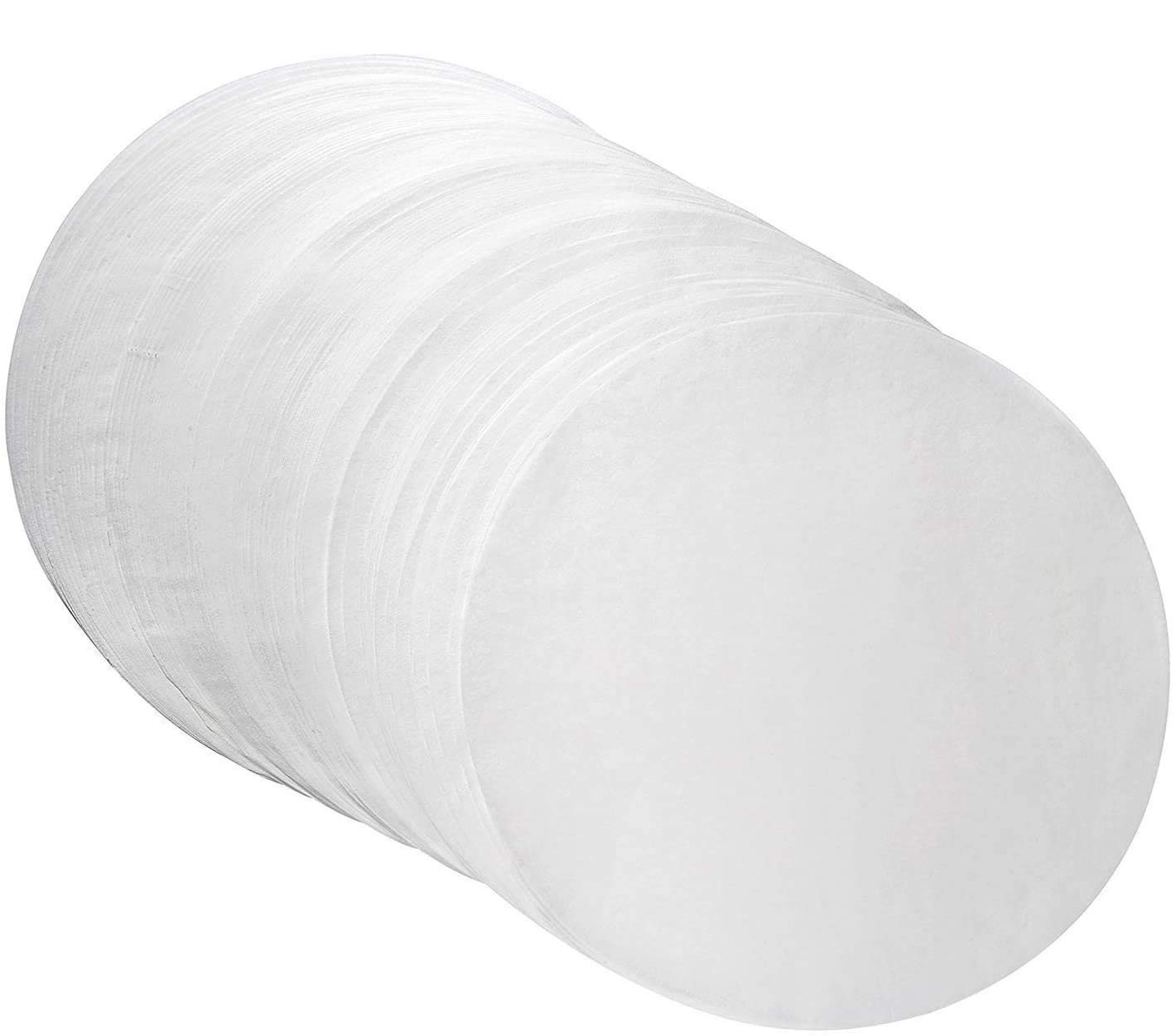 Parchment Paper Rounds 7 Inch Diameter(set of 200), Baking Paper Liners for Baking Cakes, Cooking, Dutch Oven, Air Fryer, Cheesecakes, Tortilla Press