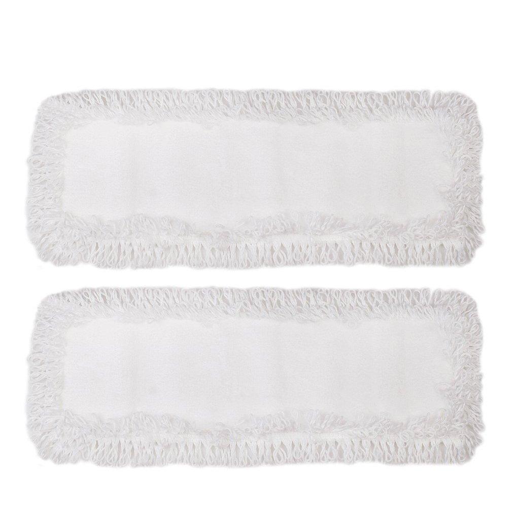 Bodenwischer Wischmop für Vileda HaRa Floorstar Leifheit Jemako 40cm (Baumwolle, 2) pro-clean