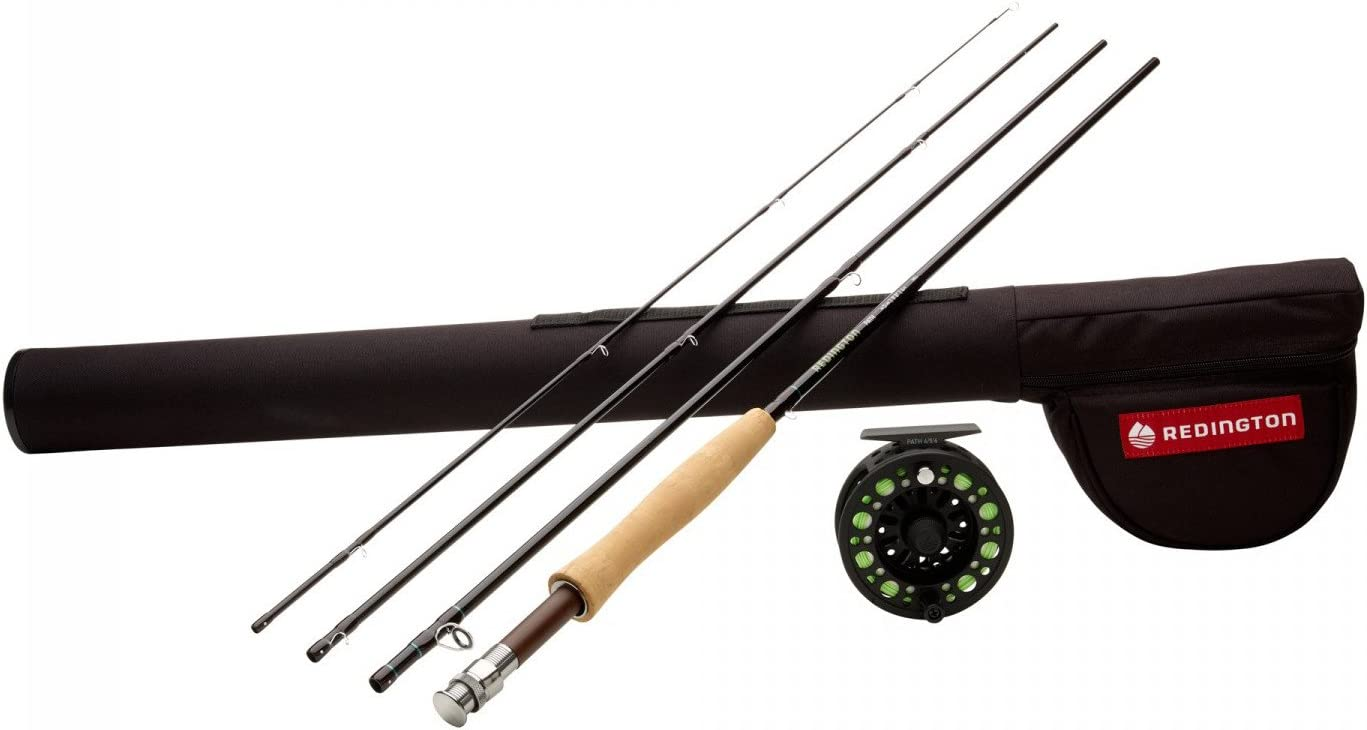 Redington Path Outfit w Reel, 480-4 4wt, 8 0, 4pc