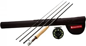 Redington Path 4 Piece Combo - 7/8/9 Reel 9 Weight Line 9'0""