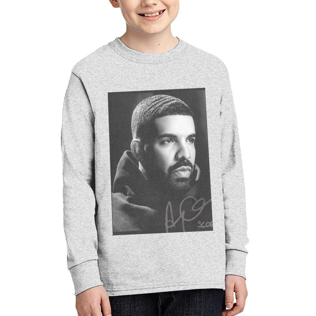TWOSKILL Youth Old-Drake Long Sleeves Shirt Boys Girls