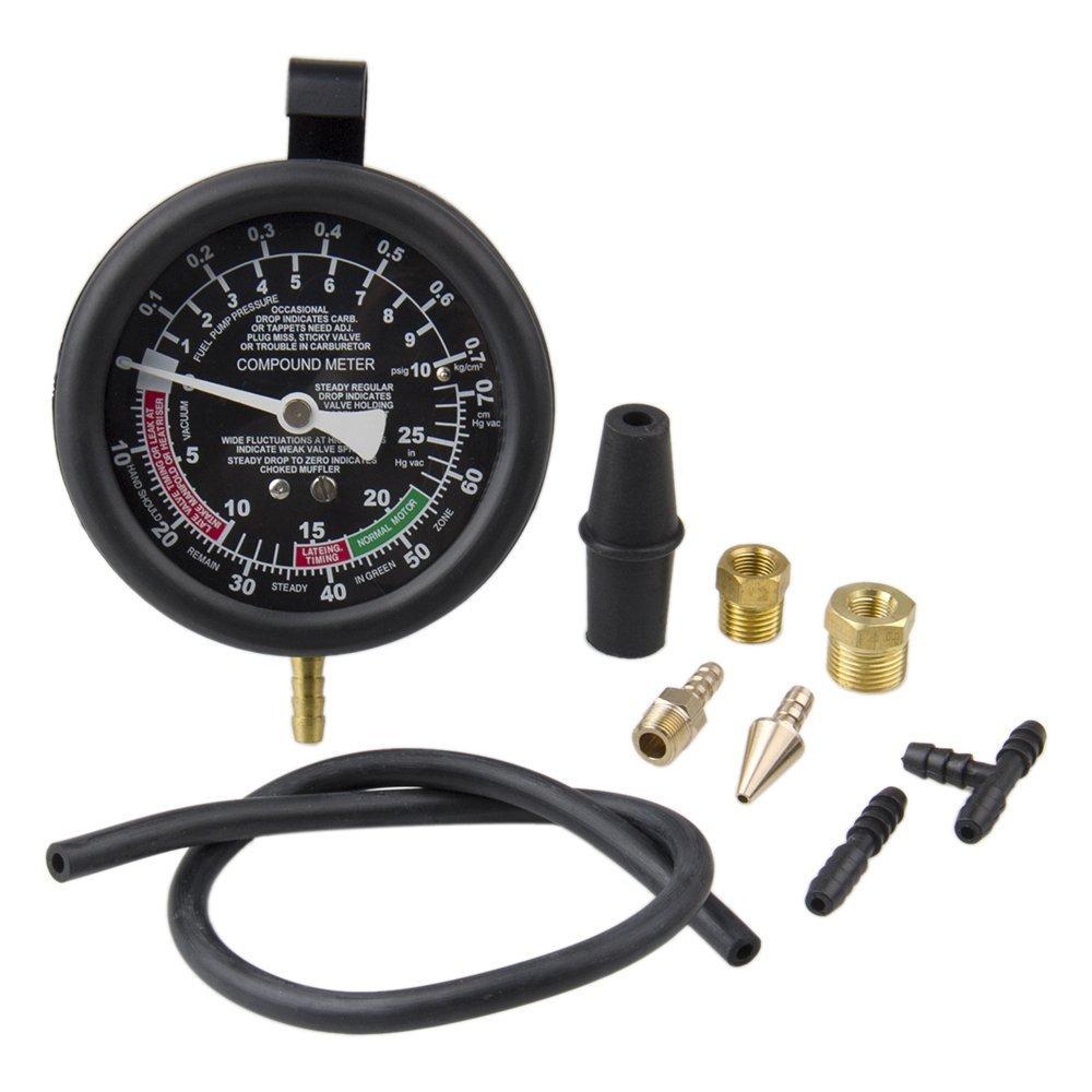 Bang4buck Fuel Pump & Vacuum Tester Carburetor Pressure Tester Gauge Set for Cars, SUVs,Trucks and ATVs by Bang4buck (Image #4)
