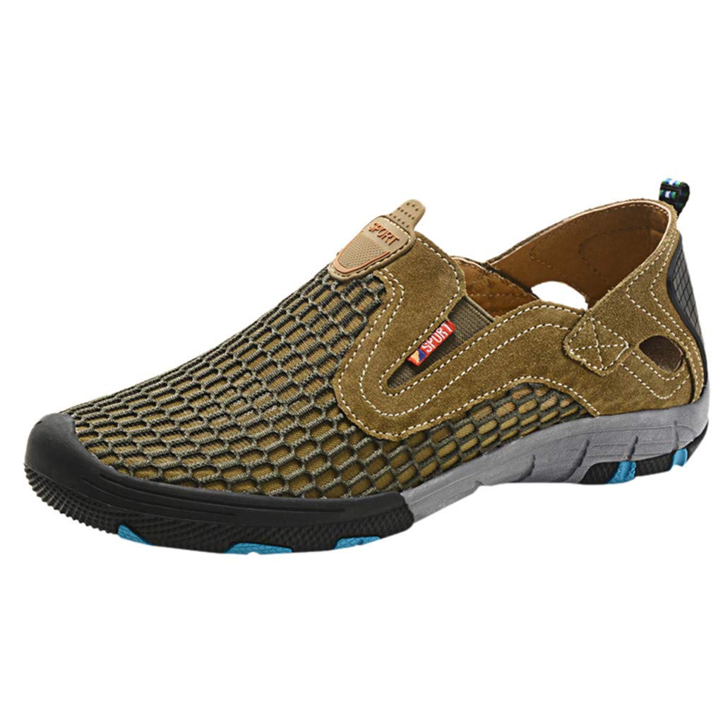 Hiking Shoes Men Lightweight Breathable Non-Slip Beach Shoes Outdoor Casual Safety Comfortable Sneakers