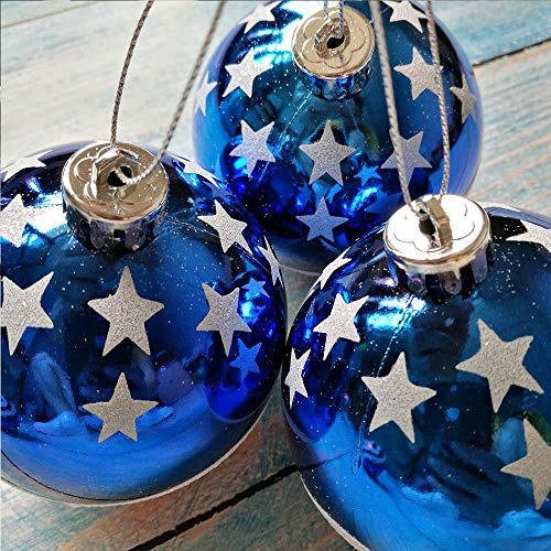 Lucas shops Patriotic Ball Ornaments July of 4th Ball Hanging Independence Day Party Decor Holiday Wedding Tree Decorations (6 Pack)