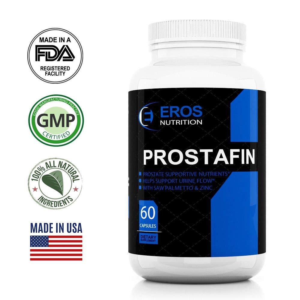 Prostafin Prostate Support Formula-Saw palmetto - Beta-sitosterol 40% Prostate Supplement - 60 Capsules