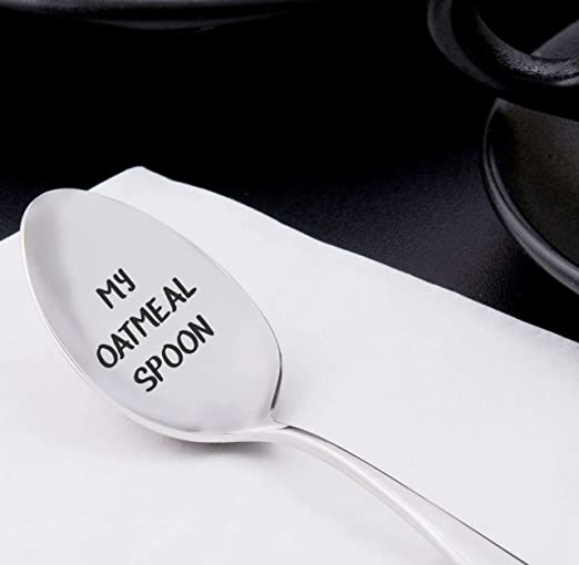 Theres Always Room for Dessert Hand Stamped Spoon Gift Under 20 Engraved Spoon Dessert Lover Custom Gift