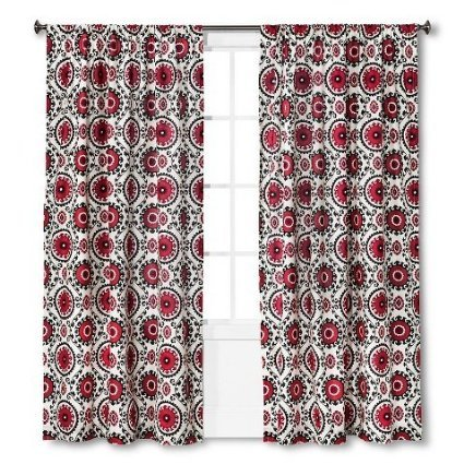 Mudhut Suzani Shower Curtain