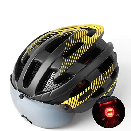 e2c7bf55b3eed Cycling Helmet Mountain Bike Goggles Glasses One Men and Women Road ...