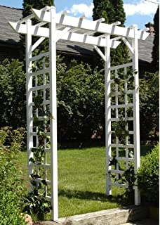 Amazon Com Dura Trel Camelot Planter Arbor Garden Outdoor