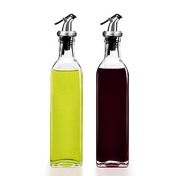 Alfie dispensador de aceite de oliva, 2 unidades de aceite y dispensador de vinagre (