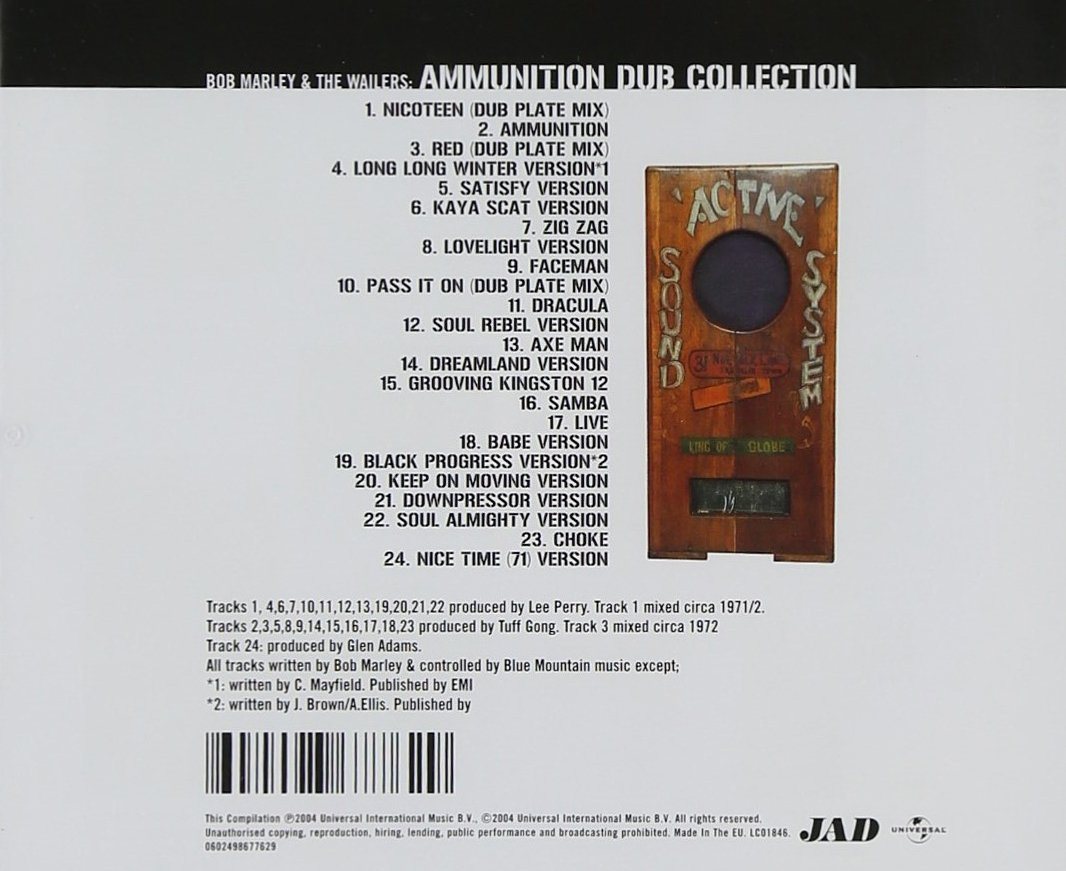 Ammunition Dub Collection /  Marley, Bob & The Wailers