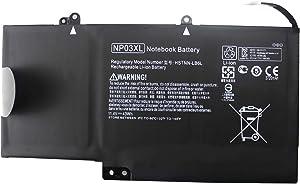 LNOCCIY NP03XL Laptop Battery for HP Pavilion X360 13-a010dx 13-a110dx;Envy X360 15-u010dx 15-u110dx 15-u011dx 15-u111dx 15-u050ca 15-u493cl 15-u473cl 760944-421 761230-005 hstnn-ub6l hstnn-lb6l